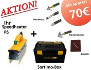 Speedheater 1100 RS - Value Pack Sortimo