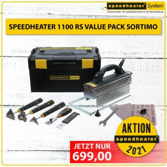 Speedheater 1100 RS - Value Pack Sortimo – Aktion 2021